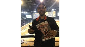 Jeremy au supercross